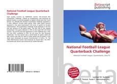 Buchcover von National Football League Quarterback Challenge