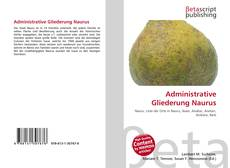 Bookcover of Administrative Gliederung Naurus