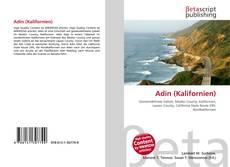 Capa do livro de Adin (Kalifornien)