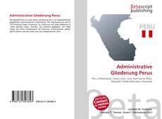 Bookcover of Administrative Gliederung Perus