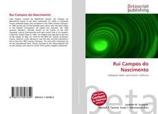Capa do livro de Rui Campos do Nascimento