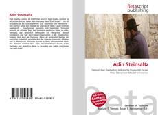 Capa do livro de Adin Steinsaltz