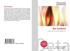Buchcover von Rui Cordeiro