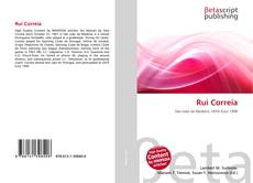Bookcover of Rui Correia