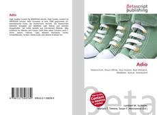 Capa do livro de Adio