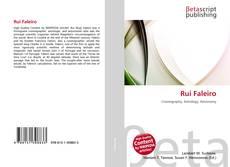 Bookcover of Rui Faleiro