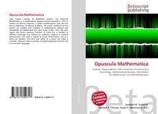 Buchcover von Opuscula Mathematica