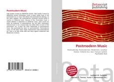 Portada del libro de Postmodern Music
