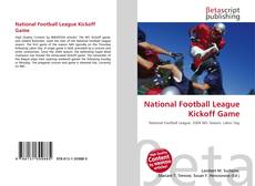 Buchcover von National Football League Kickoff Game