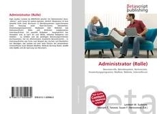 Bookcover of Administrator (Rolle)