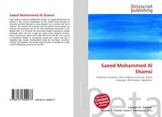 Saeed Mohammed Al Shamsi的封面