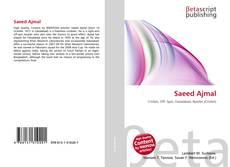 Bookcover of Saeed Ajmal