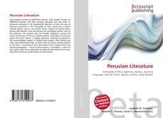 Bookcover of Peruvian Literature