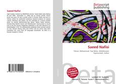 Bookcover of Saeed Nafisi