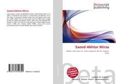 Saeed Akhtar Mirza的封面