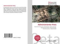 Buchcover von Administrierter Preis