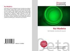 Rui Madeira kitap kapağı