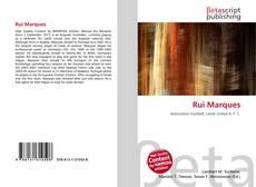 Bookcover of Rui Marques
