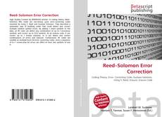 Bookcover of Reed–Solomon Error Correction