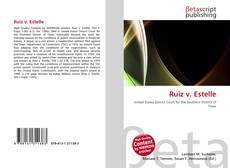 Portada del libro de Ruiz v. Estelle
