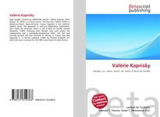Bookcover of Valérie Kaprisky