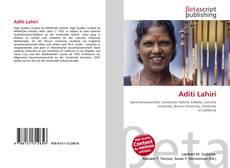 Borítókép a  Aditi Lahiri - hoz