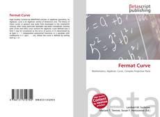 Portada del libro de Fermat Curve