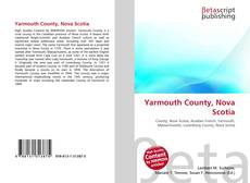 Bookcover of Yarmouth County, Nova Scotia