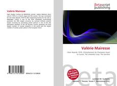 Bookcover of Valérie Mairesse