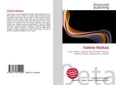 Bookcover of Valérie Maltais