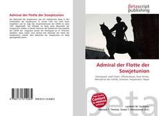 Bookcover of Admiral der Flotte der Sowjetunion