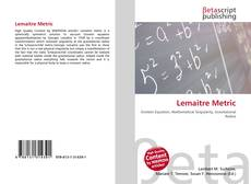 Bookcover of Lemaitre Metric
