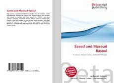Borítókép a  Saeed and Masoud Rasoul - hoz