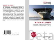Обложка Admiral Gorschkow