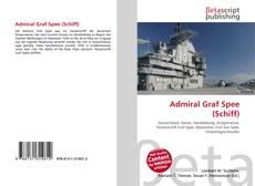 Buchcover von Admiral Graf Spee (Schiff)