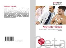 Capa do livro de Adjuvante Therapie