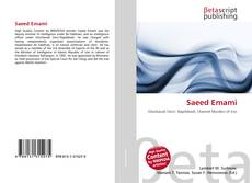Bookcover of Saeed Emami