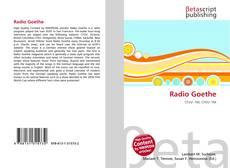 Buchcover von Radio Goethe