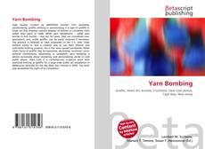 Portada del libro de Yarn Bombing