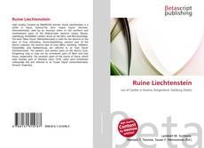Buchcover von Ruine Liechtenstein