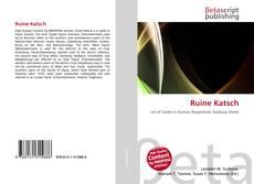 Buchcover von Ruine Katsch