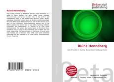 Buchcover von Ruine Henneberg