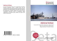 Buchcover von Admiral Scheer