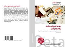 Adler-Apotheke (Bayreuth) kitap kapağı