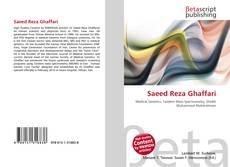 Saeed Reza Ghaffari kitap kapağı