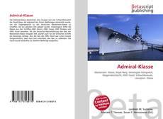 Capa do livro de Admiral-Klasse