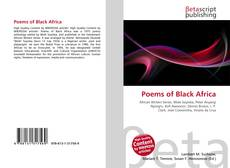 Bookcover of Poems of Black Africa