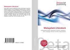 Couverture de Malayalam Literature