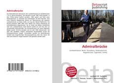 Buchcover von Admiralbrücke