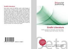 Sindhi Literature kitap kapağı